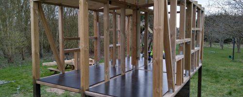 Opmåling, udskæring og montering af loftplader