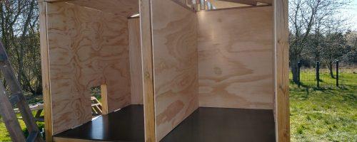 Opmåling, udskæring og montering af inderplader