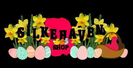 Silkehaven shop - logo påske